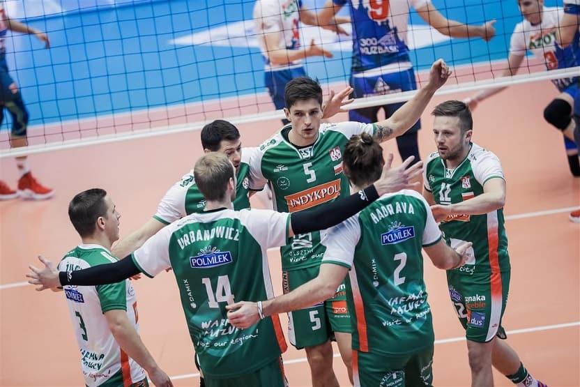 Puchar CEV: Indykpol AZS Olsztyn vs Kuzbass Kemerowo (Fot. CEV)
