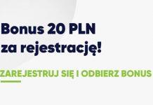 20 PLN od forBET za rejestrację konta!