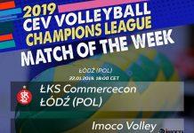 Liga Mistrzyń: ŁKS Commercecon Łódź vs Imoco Volley Conegliano (Fot.: CEV)