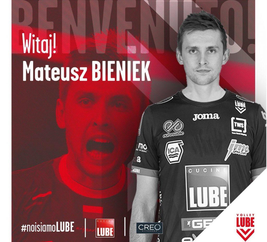 Mateusz Bieniek zagra w europejskim gigancie!