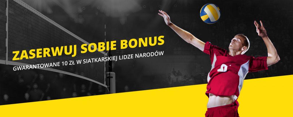 Siatkarski bonus w Fortunie! (28-30 czerwca)