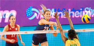 Wielki finał Siatkarskiej Ligi Narodów kobiet! (Fot.: FIVB/volleyball.world)