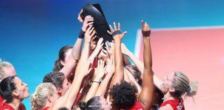 Amerykanki ze złotem, Drews MVP Siatkarskiej Ligi Narodów 2019! (Fot.: FIVB/volleyball.world)